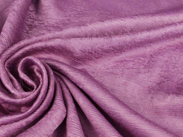 Фото 7 - Ткань портьерная блэкаут сиреневая (имитация дерева).