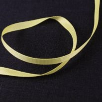 Фото 22 - Лента  репсовая 6 мм  желтый.