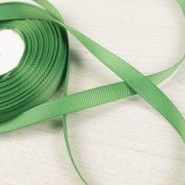 Фото 18 - Лента  репсовая 10 мм  зеленый.