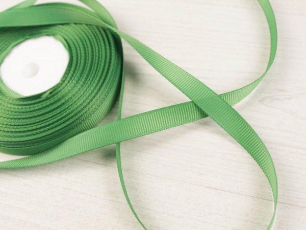 Фото 3 - Лента  репсовая 10 мм  зеленый.
