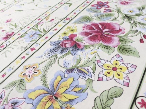 """Фото 5 - Ткань для постельного белья, шир2.2 """"Флора""""."""
