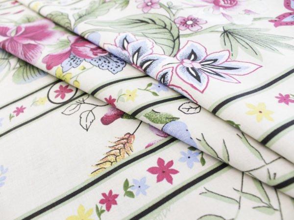 """Фото 3 - Ткань для постельного белья, шир2.2 """"Флора""""."""