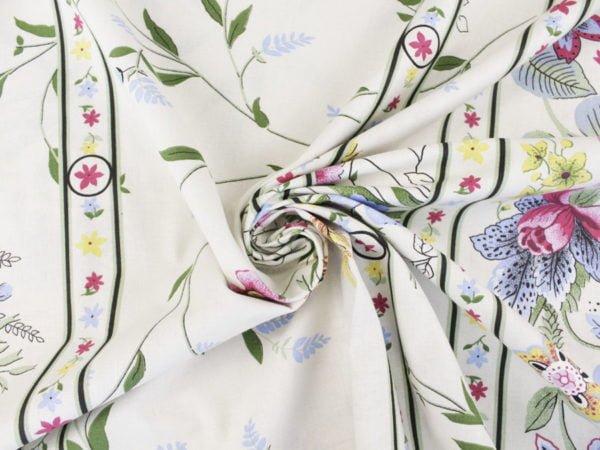 """Фото 9 - Ткань для постельного белья, шир2.2 """"Флора""""."""