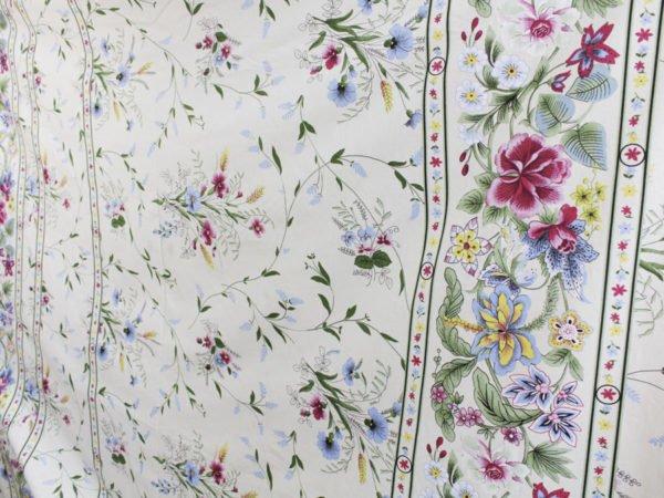 """Фото 10 - Ткань для постельного белья, шир2.2 """"Флора""""."""