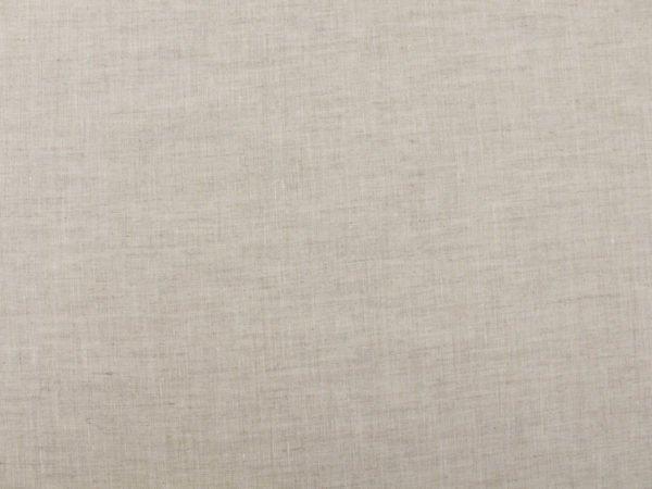 Фото 5 - Ткань льняная сорочечная цвета небеленого льна.