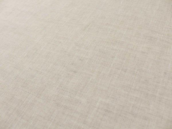 Фото 6 - Ткань льняная сорочечная цвета небеленого льна.