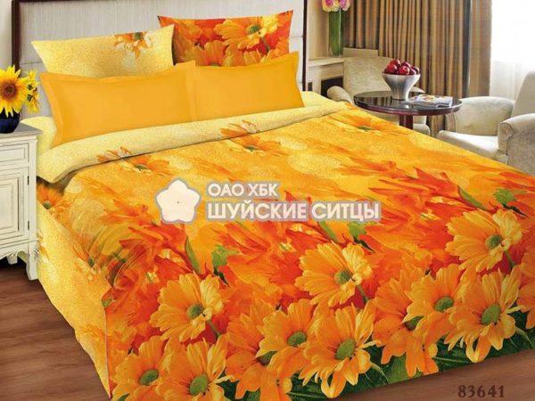 Фото 3 - Комплект постельного белья ЭкоДом Цветотерапия 83641.