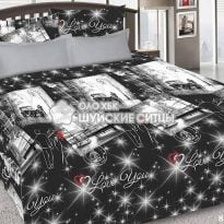 Фото 17 - Комплект постельного белья КПБ ЭкоДом Цветотерапия  (семейный) 84521.