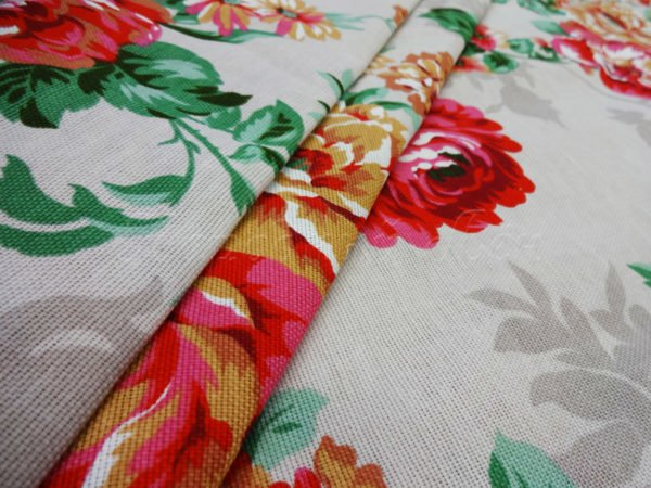"""Фото 3 - Двунитка  """"цветы"""" (красные)."""