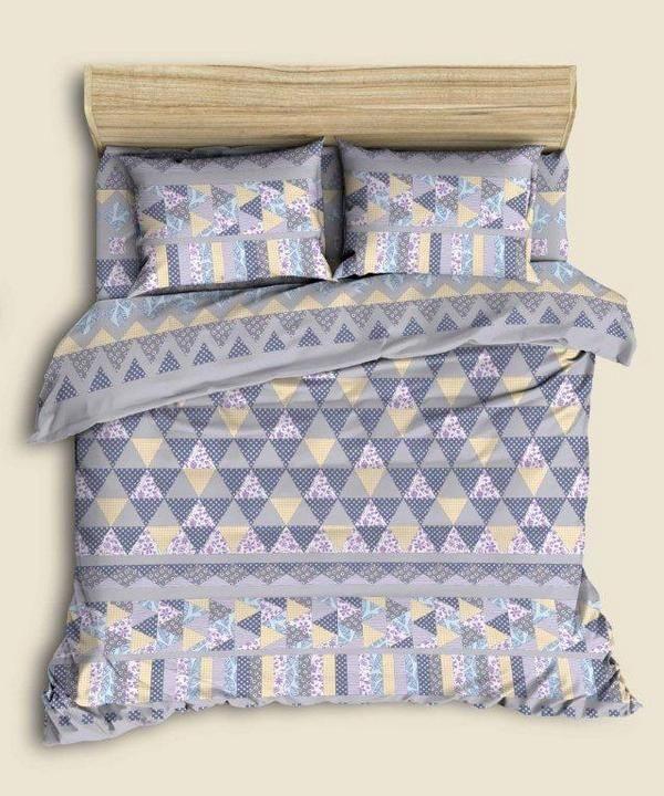 """Фото 3 - Комплект льняного  постельного белья """"Пэчворк""""."""