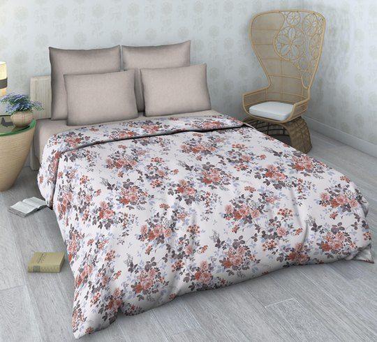 """Фото 3 - Комплект льняного  постельного белья """"Притяжение"""",  2 сп с  европростыней."""