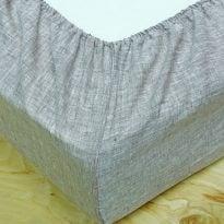 Фото 14 - Простыня льняная  на  резинке (пошив на заказ).