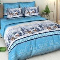 """Фото 11 - Комплект постельного белья """"Северная сказка"""" 2 спальный."""