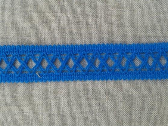 Фото 3 - Тесьма отделочная 18 мм, синяя.