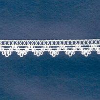 Фото 11 - ТЕСЬМА ОТДЕЛОЧНАЯ ажурная белый 17мм.