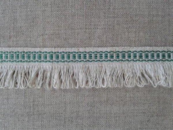 Фото 3 - Тесьма отделочная с бахромой (зеленая).