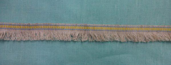 Фото 3 - Тесьма отделочная с бахромой (жёлтая).