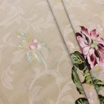 """Фото 25 - Ткань для постельного белья, ширина 2.2м """"Георгины"""" ГОСТ."""
