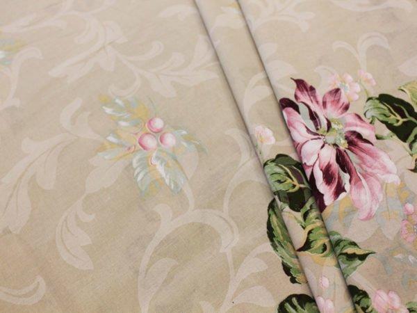 """Фото 3 - Ткань для постельного белья, ширина 2.2м """"Георгины"""" ГОСТ."""