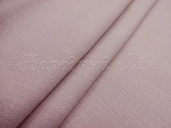 Фото 3 - Ткань костюмная розовато-бежевая.