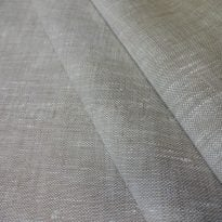 Фото 19 - Ткань льняная костюмная умягченная, цвет небеленого льна, лён 100%.
