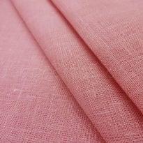 Фото 9 - Ткань льняная, ширина 260 см, лен 100% бледно-розовая.