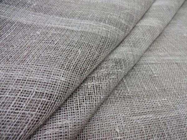 Фото 3 - Ткань льняная декоративная (полосы).