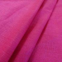 Ткань льняная цвета  фуксии