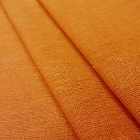 Ткань льняная цвета карри
