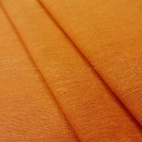 Фото 21 - Ткань льняная цвета карри.