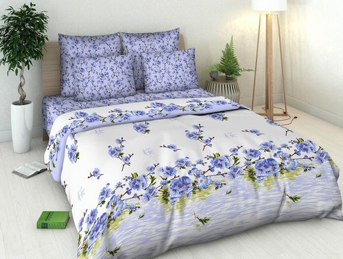 """Фото 5 - Комплект постельного белья """"Цветение персика"""" 2 спальный."""