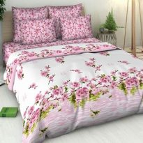 """Фото 13 - Комплект постельного белья """"Цветение персика"""" 2 спальный."""