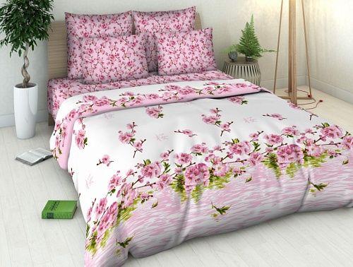 """Фото 3 - Комплект постельного белья """"Цветение персика"""" 2 спальный."""
