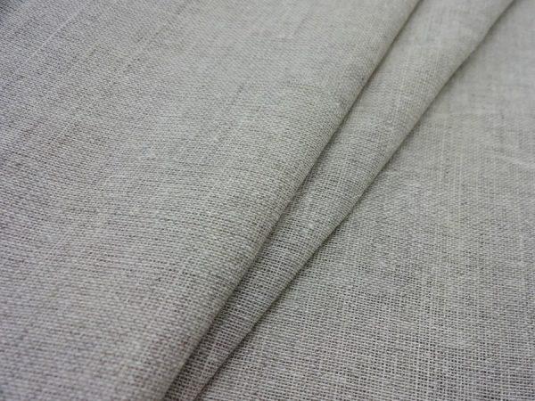 Вуаль льняная, цвета небеленого льна ширина 260 см