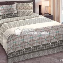 Комплект постельного белья  Креп De Luxe 91281