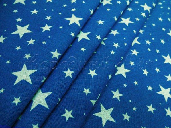 Фото 3 - Звезды белые на синем.