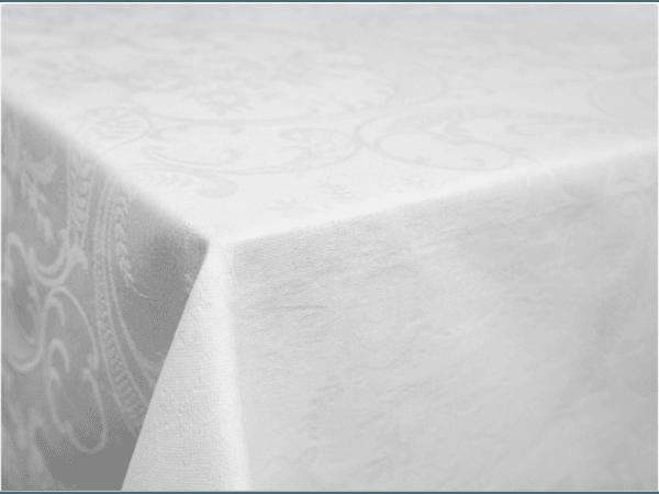 """Фото 4 - Скатерть 170*130 """"Кружева"""" цвет белый."""