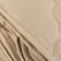 Фото 10 - Одеяло стеганое льняное  1,5 спальное 400г/кв м.