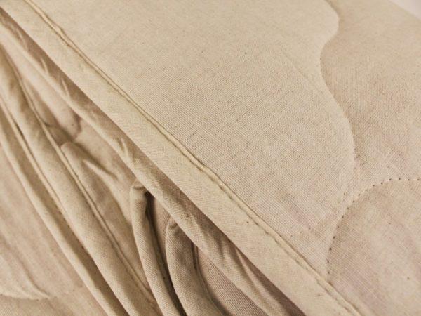 Фото 3 - Одеяло стеганое льняное 2-х спальное 400 г/кв м.