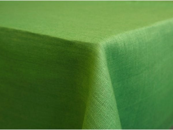 Фото 3 - Скатерть 100% лен цв.фисташка 150*250 см.