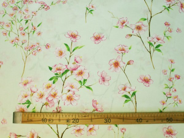 """Фото 6 - Ткань для постельного белья ГОСТ шир 150 см """"Ветка сакуры""""."""