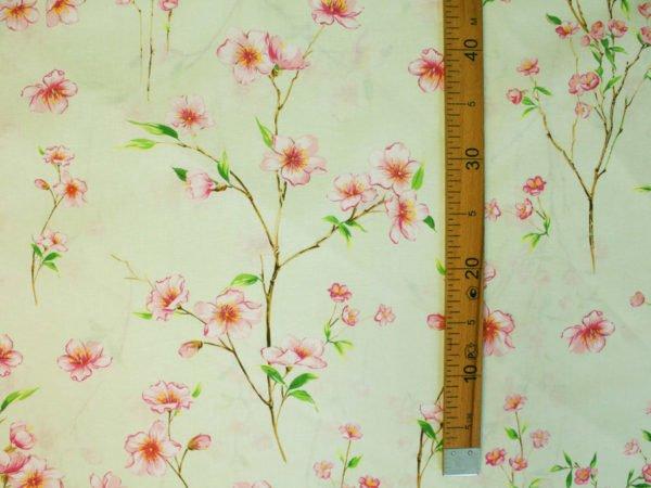 """Фото 5 - Ткань для постельного белья ГОСТ шир 150 см """"Ветка сакуры""""."""