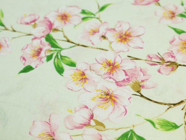 """Фото 7 - Ткань для постельного белья ГОСТ шир 150 см """"Ветка сакуры""""."""