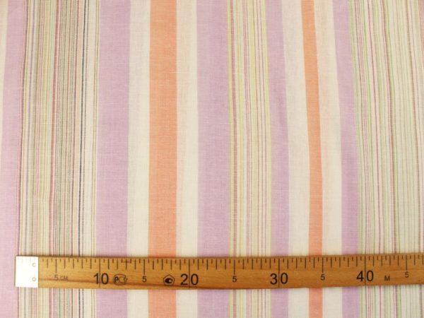 Фото 6 - Льняная ткань для постельного белья шир 1.8м в полоску.