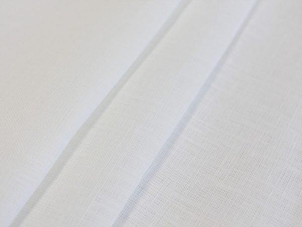 Фото 3 - Ткань льняная  умягченная белая лен-100%.