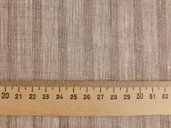 Фото 4 - Льняная вуаль интерьерная вареная цвет серый ширина 150см.