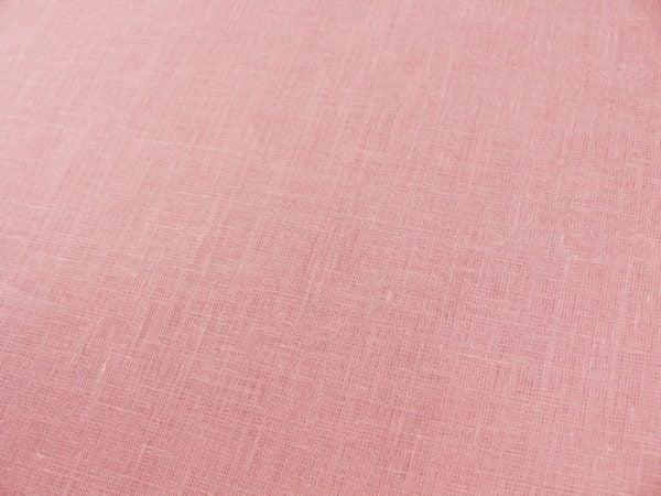 Фото 7 - Ткань льняная нежно-розовая ширина 220 см лен 100%.