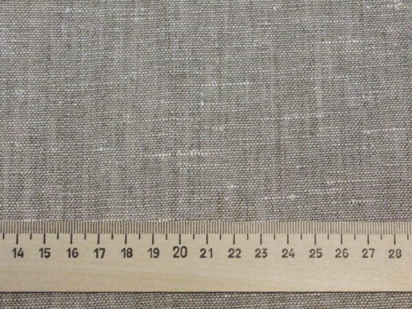 Фото 4 - Льняная ткань для постельного белья серая меланжевая, ширина 220 см.