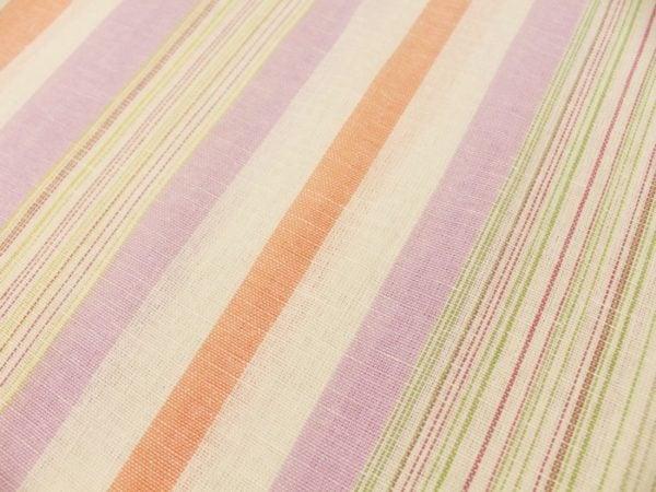 Фото 8 - Льняная ткань для постельного белья шир 1.8м в полоску.