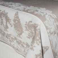 """Фото 14 - """"Английский сад"""" покрывало декоративное жаккардовое, хлопок 100%."""